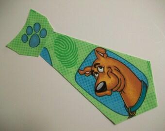 DIY No-Sew Scooby  Do Tie Applique - Iron On