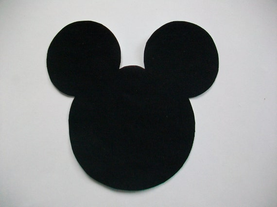 RESERVED LISTING - DIY Mickey Mouse Appliques - Iron On