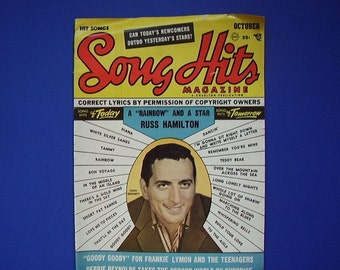 1957 Song Hits, Vintage Magazine