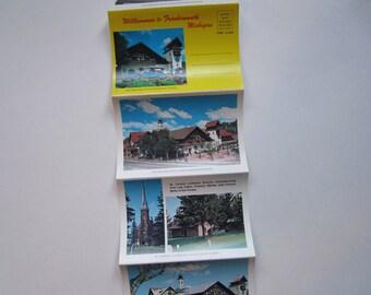 Vintage Postcard Set, Frankenmuth, Michigan