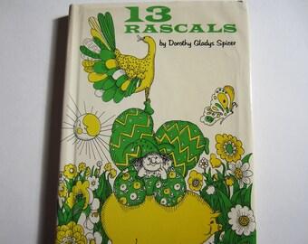 13 Rascals, a Vintage Children's Book