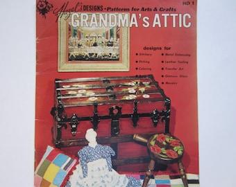 Vintage Craft Book, Grandma's Attic
