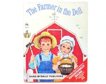 The Farmer in the Dell, a Vintage Children's Book