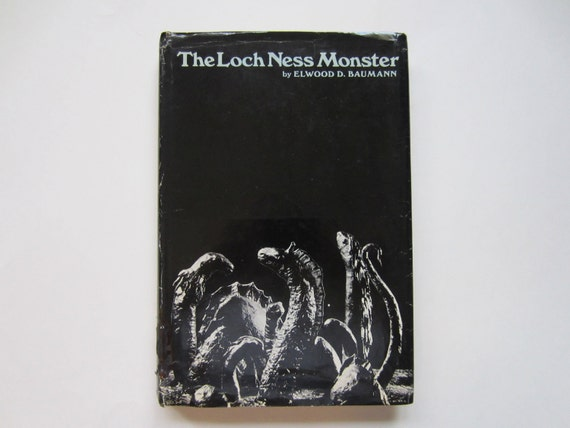 The Loch Ness Monster, a Vintage Book