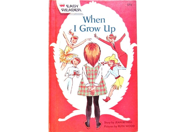 When I Grow Up, A Vintage Children's Book