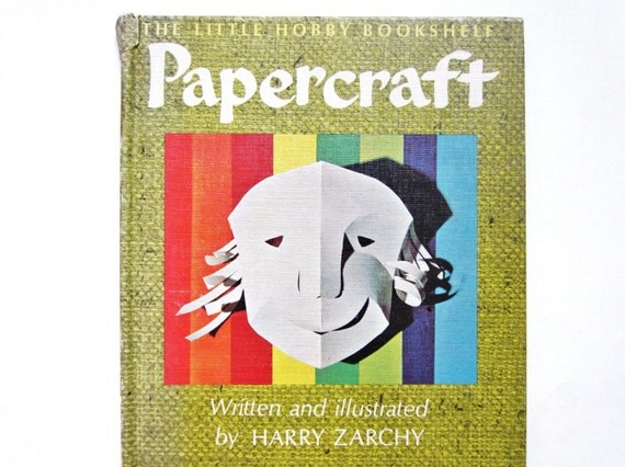 Papercraft, a 1960s Vintage Craft Book