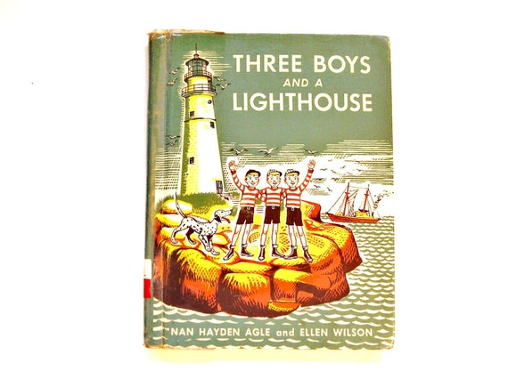 Three Boys and a Lighthouse, Vintage Children's Book