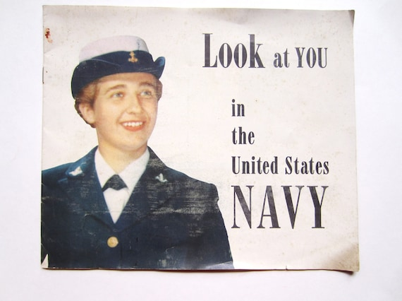 Navy Booklet, 1950s, Waves