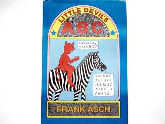 Little Devil's ABC, Vintage, Children's Alphabet Book