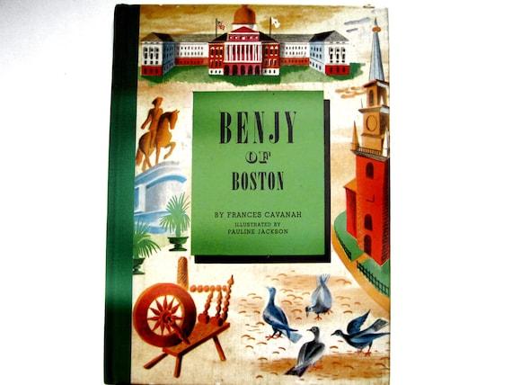 Benjy of Boston, Vintage Children's Book, 1946