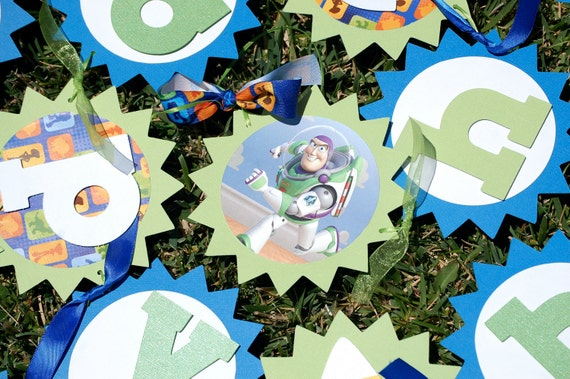 Toy Story Banner - Buzz Lightyear