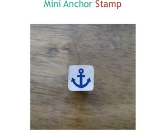 Simple Rubber Stamp-Mini Anchor **