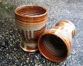 Tumbler Juice Cup Red-Honey Glaze