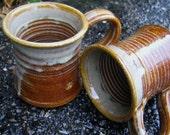 Coffee Mug Cup Honey Glaze