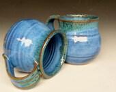 Blue Green Mug Ceramic Coffee Mug