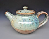 Personal Teapot Mossy Green Glaze