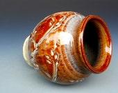 Red Honey Vase Pottery