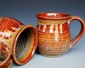 Honey Red Mug Ceramic Coffee Mug