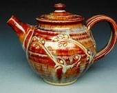 Honey Brown Teapot