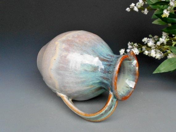 Flower Vase Pitcher Green