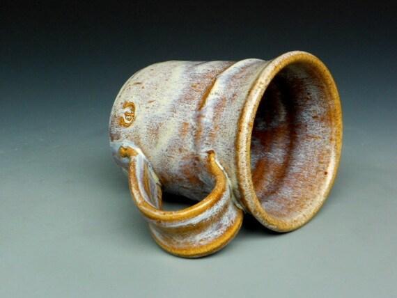 25% Off Seconds Pottery Mug Ceramic Coffee Mug Rustic Cream