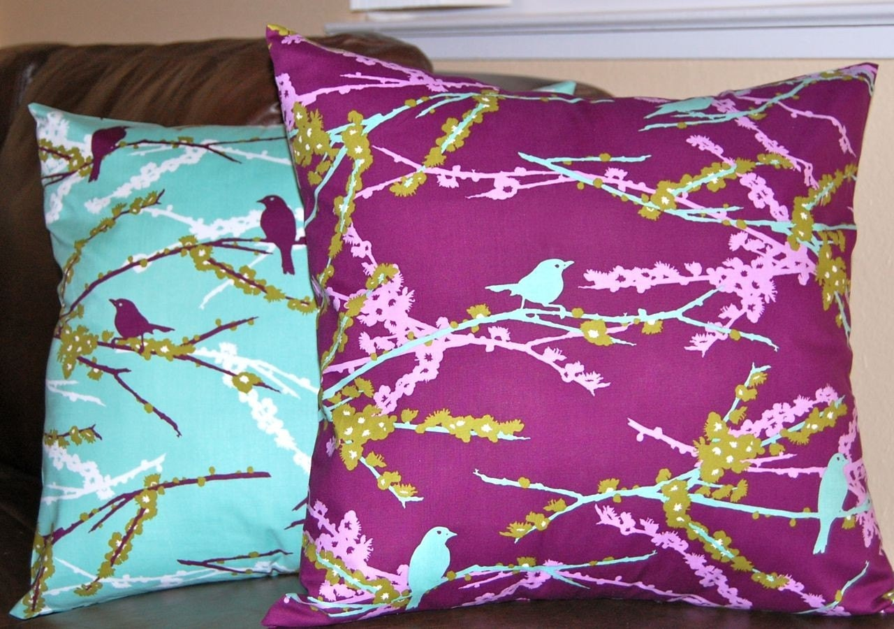 Ready Made Decorative Pillow Covers : Combo Set of Decorative Toss Pillow Covers Ready to Ship
