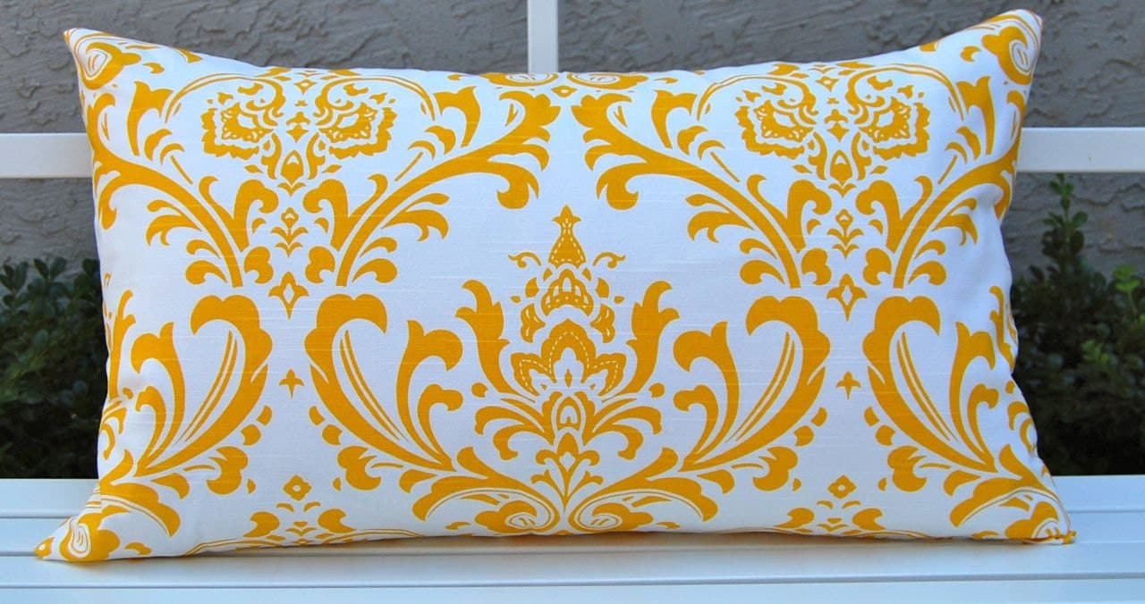 Lumbar Pillow Accent Pillow Cover Decorative by FestiveHomeDecor