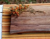 Cutting Board Serving Tray Organic Walnut Footed Platte
