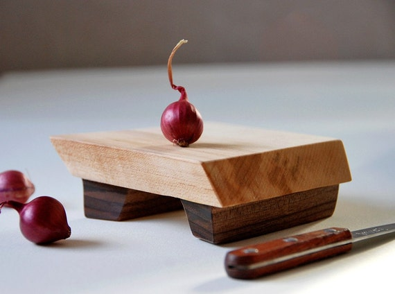 Mini Cutting Board Maple Footed Platte Cheese Tray