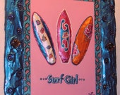 SURF GIRL by artist, Whitney Madison