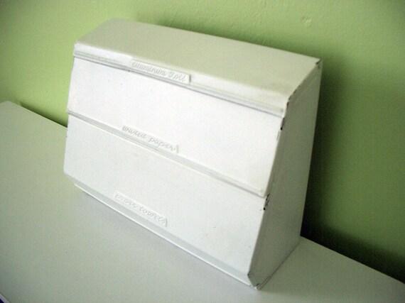 VINTAGE Kitchen Paper Dispenser Retro