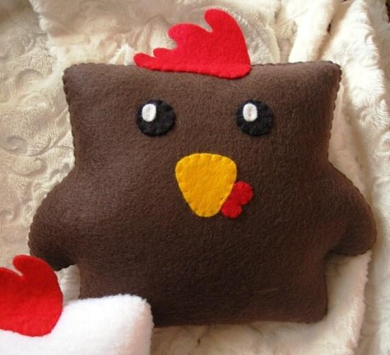 Roasted 'Cock Block' Pillow