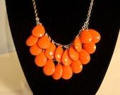 Coral Drop Necklace