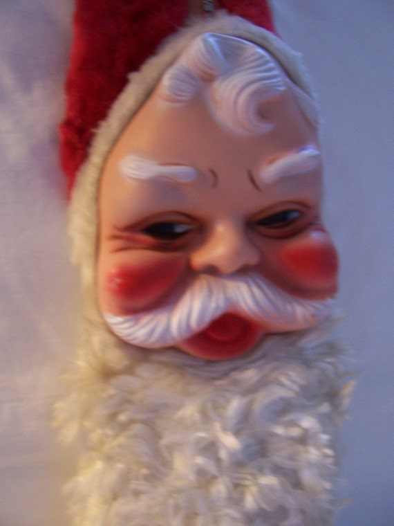 Vintage 1950's Santa Claus Face Bijou Toys Inc. New York