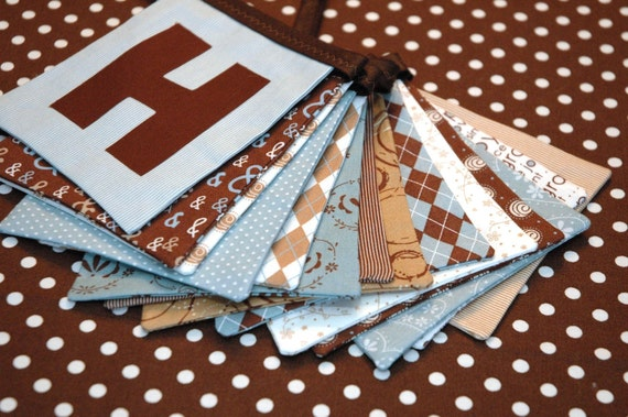 SALE Eco-Friendly Reusable HAPPY BIRTHDAY Banner in Pure by Sweetwater for Moda