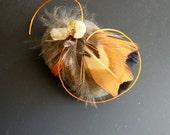 Creativity Abundance Spirit Stone Citrine Pheasant Feathers
