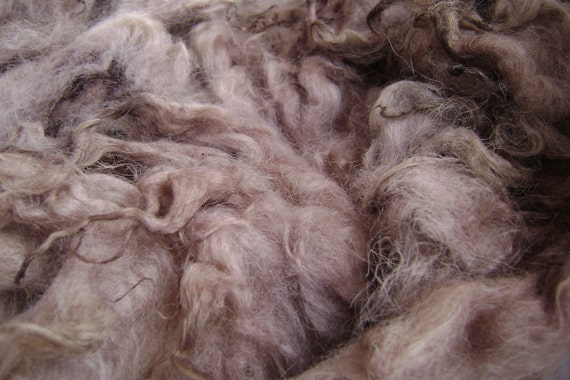 Natural dyed wool