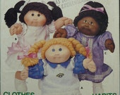 "Vintage Sewing Pattern Butterick 6934 / Clothes for 16"" Cabbage Patch Kids Dolls / UNCUT"