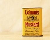 vtg Colman's Mustard tin