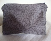 fabric zipper pouch cosmetic make up bag pencilcase mothers day