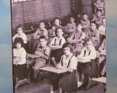 School Classroom Album w/Vintage Group Photo