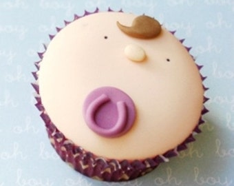 Babyface cupcake PDF Tutorial
