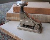 antique Hotchkiss stapler