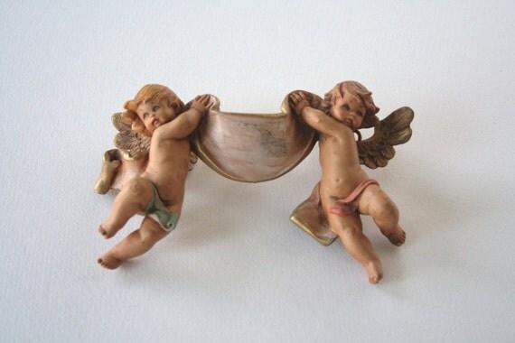 vintage Italian cherubs