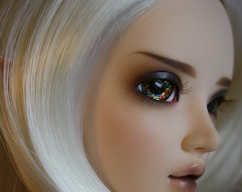 BJD eyes Doll eyes Hand made available in 12/14/16/18/20/22/24mm My Muse made to order