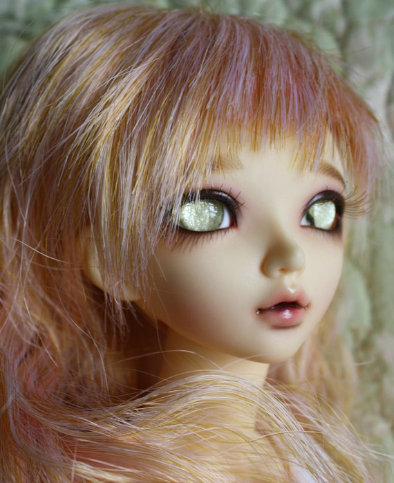 BJD eyes available in 12/14/16/18/20/22/24mm Sparkling Champagne  made to order
