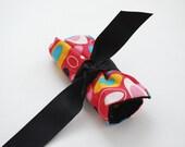 Fabric Crayon Roll