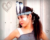 SALE Bleu Verve Child's Festival Head dress by House of re:Birth