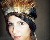 Artisan Indian Summer Head Dress/ Arm wrap  by House of re:Birth- Only 1 More Available