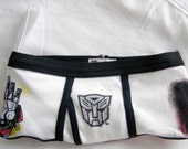 Transformers Optimus Prime Boy Brief Wrist Clutch